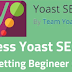 Why yoast wordpress search engine optimization plugin configuration succeeds?