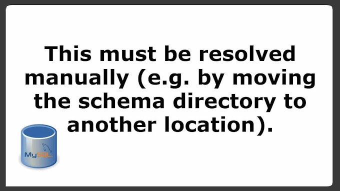 vetechno - This must be resolved manually (e.g. by moving the schema directory to another location). in Ubuntu 20.04 LTS