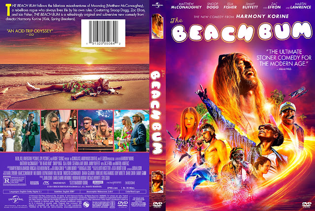 The Beach Bum DVD Cover