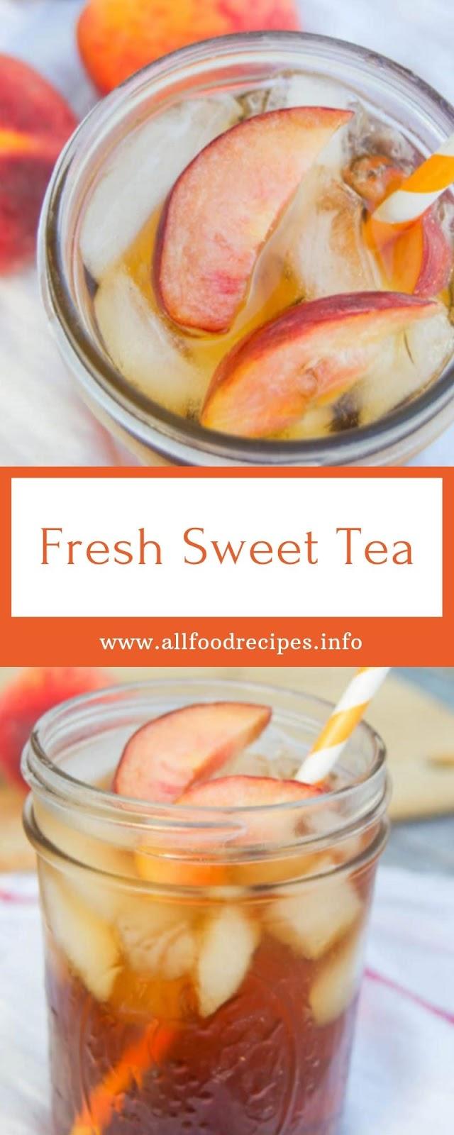 Fresh Sweet Tea