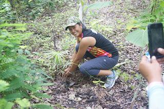 tree planting at Salagdoong