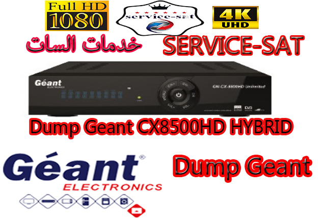 Dump Geant-CX8500 HD HYBRID