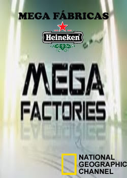 Mega Fábricas: Heineken - Dublado