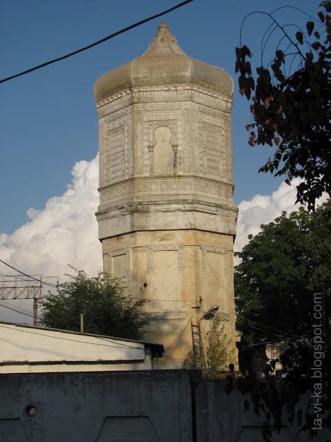 водонапорная башня в селе Почтовое