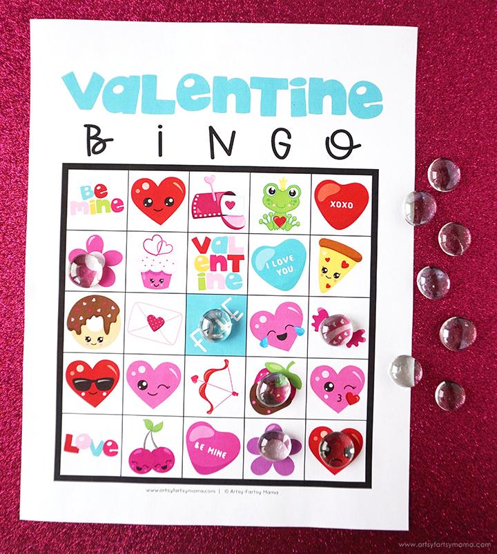 Free Printable Valentine's Day Bingo