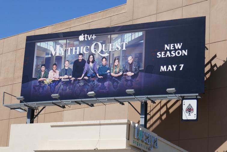 Mythic Quest season 2 billboard