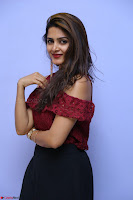 Pavani Gangireddy in Cute Black Skirt Maroon Top at 9 Movie Teaser Launch 5th May 2017  Exclusive 083.JPG
