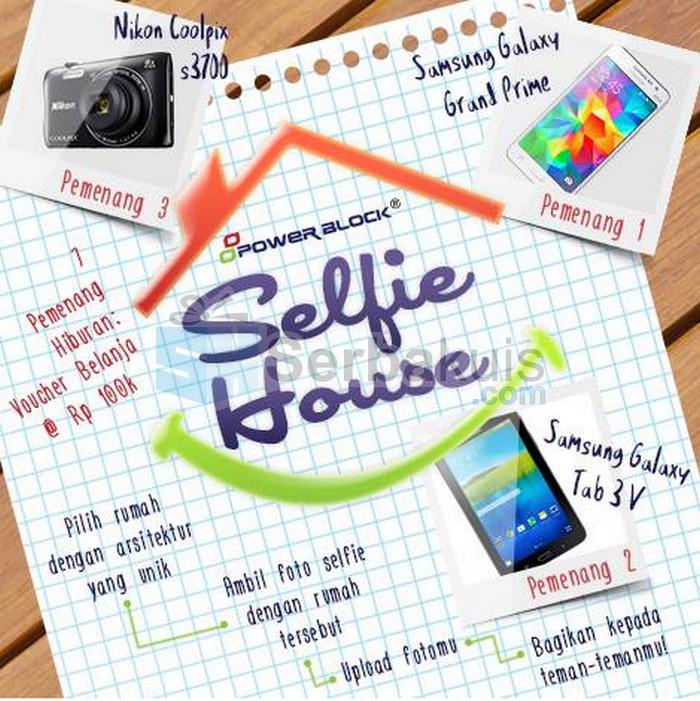 Kontes Selfie House Berhadiah SAMSUNG Galaxy Tab 3V