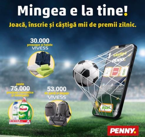 Concurs Penny Premii La Buton 2021 - Castiga peste 150.000 de premii - concursuri - online