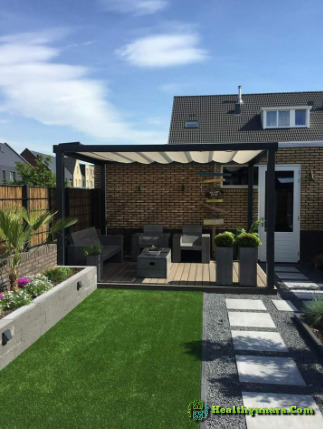 Garden design with Canopy