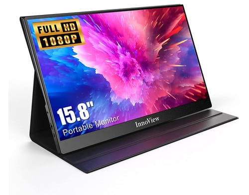 InnoView INVPM406 FHD USB C HDMI Second External Monitor