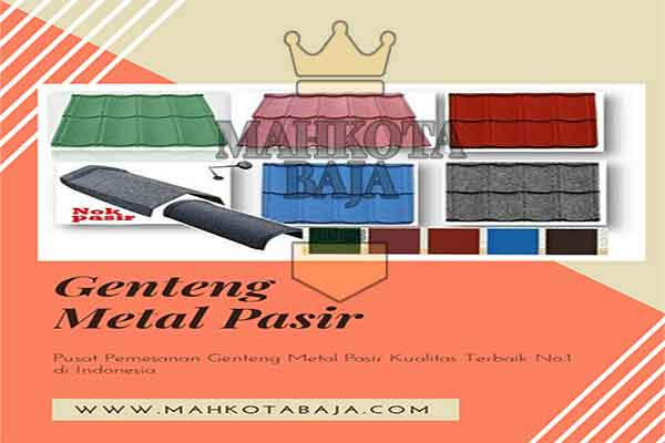 Harga Genteng Metal Pasir Jakarta
