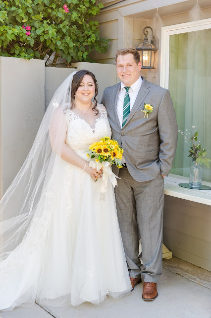 The Cottage Wedding Bride and Groom Portraits by Micah Carling Photography