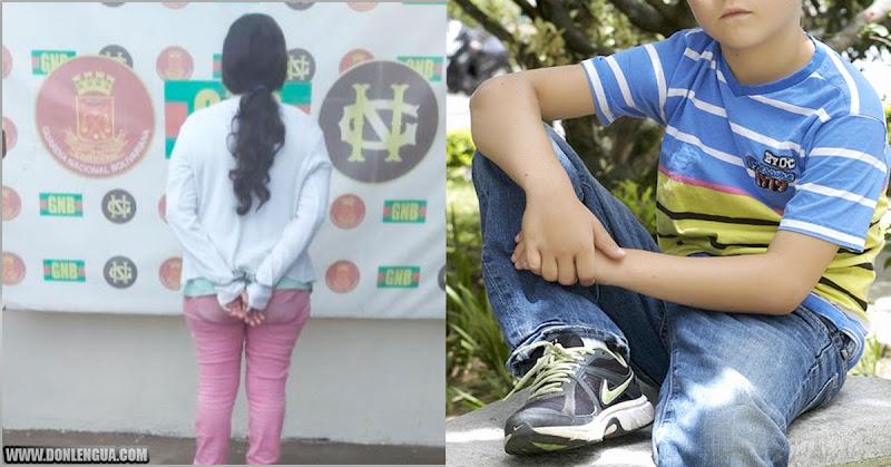 Mujer de 42 años detenida por abusar de niño de 10 años en Guayana