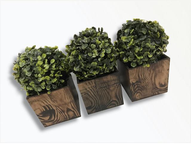 As plantinhas invadiram o décor, já reparou?  Olha que graça esses cachepôs com plantinhas permanentes.  Coloridos ou não, eles trazem mais vida ao ambiente.