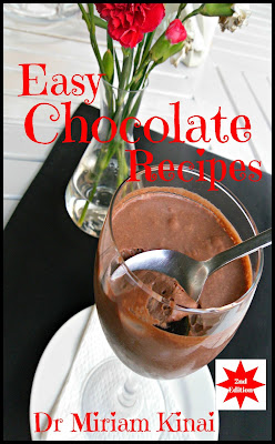 Easy Chocolate Recipes teaches you how to prepare romantic desserts, no-bake cakes and delicious drinks. You will learn how to make: * Chocolate Truffles * Chocolate Pudding * Chocolate Fudge * Chocolate Bark * Chocolate Covered Strawberries * No Bake Black Forest Cake * No Bake Chocolate Cheesecake * Chocolate Platters * Chocolate Smoothies * Other Chocolate Drinks
