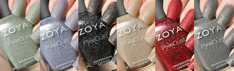 Zoya PixieDust Collection (work / play / polish)