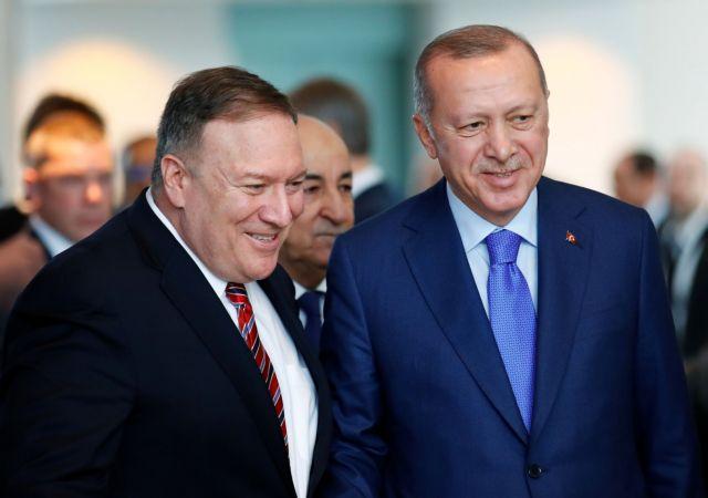 Αιφνίδια αποχώρηση Ερντογάν από τη Διάσκεψη του Βερολίνου