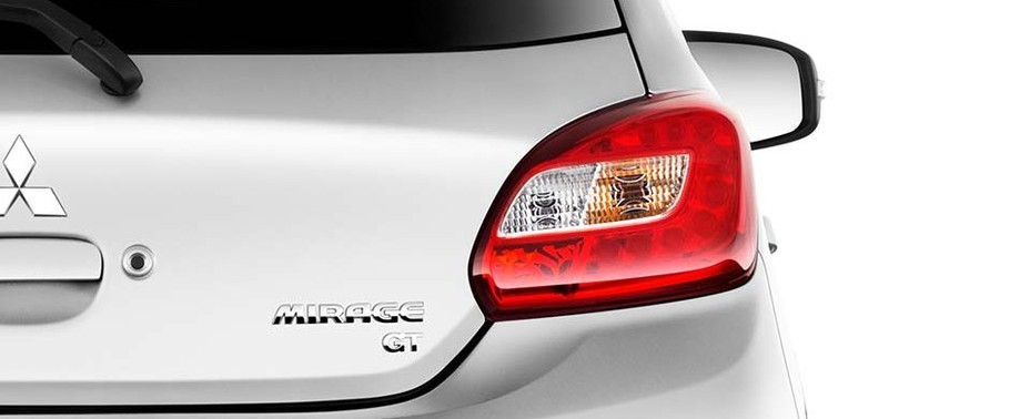 2016 Mitsubishi Mirage Tail Light