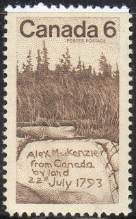 1793 – Alexander Mackenzie reaches the Pacific Ocean becoming the first recorded human to complete a transcontinental crossing of North America.  Sir Alexander Mackenzie (or MacKenzie, Scottish Gaelic: Alasdair MacCoinnich; 1764 – 12 March 1820) was a Scottish explorer known for accomplishing the first east to west crossing of North America north of Mexico, which preceded the more famous Lewis and Clark Expedition by 12 years. His overland crossing of what is now Canada reached the Pacific Ocean in 1793. The Mackenzie River, the longest river system in Canada and the second longest in North America, is named after him.