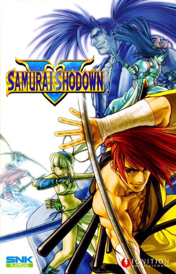 Samurai Shodown V - Samurai Spirits Zero