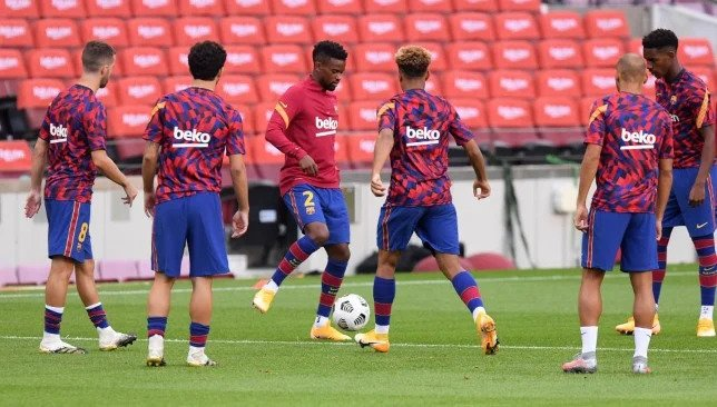 عاجل.. التشكيلة الأساسية لبرشلونة في مباراته أمام فياريال
