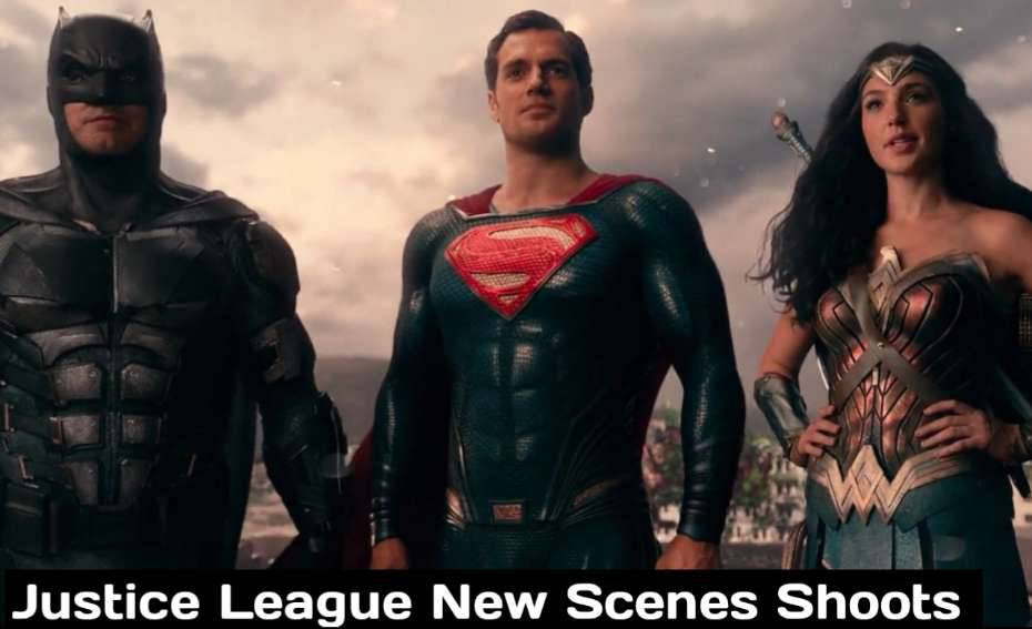 Justice League Snyder Cut Filming New Scenes With Casts