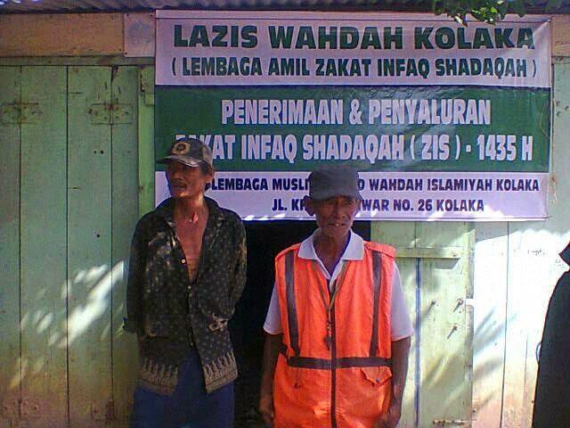 LAZIS dan LM berbagi Zakat Maal