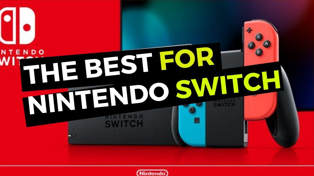 Nintendo Switch, Lite + Best accessories