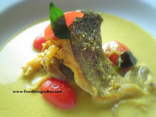 KERALA FISH MOLEE FINE DINING INDIAN RECIPE PICTURE