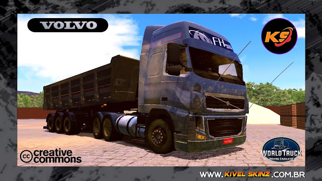 VOLVO FH09 - FAIXAS VOLVO 750 SUJA