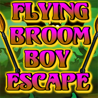 Games2Rule Flying Broom Boy Escape