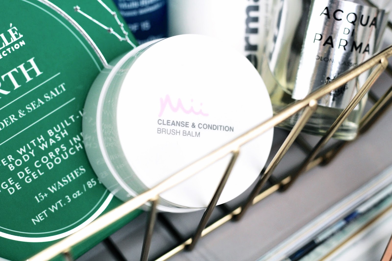 Mii Cosmetics Cleanse & Condition Brush Balm