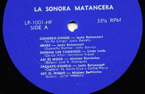 Soy El Mismo | Maximo Barrientos & La Sonora Matancera Lyrics