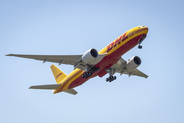 DHL Express expande rede internacional com novos aviões Boeing 777 Freighter