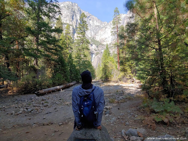 Lower Yosemite Falls Trail