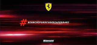 Bianchi for Scuderia Ferrari - Logo della partnership