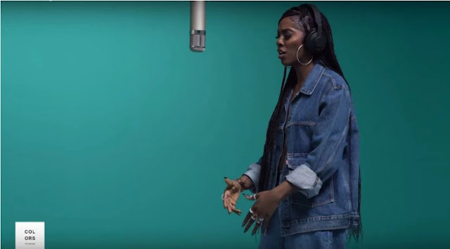 Tiwa Savage Performs Her New Single 'Attention' on COLORS