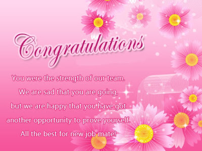 All Congratulations message