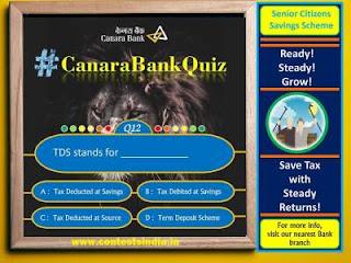 Canara Bank Quiz