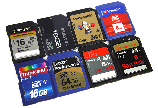Memory cards Fast Fixes