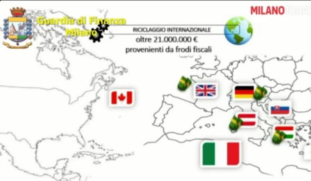 """Operazione """"Swift - my cash"""" - Corruzione internazionale, frode fiscale e riciclaggio"""