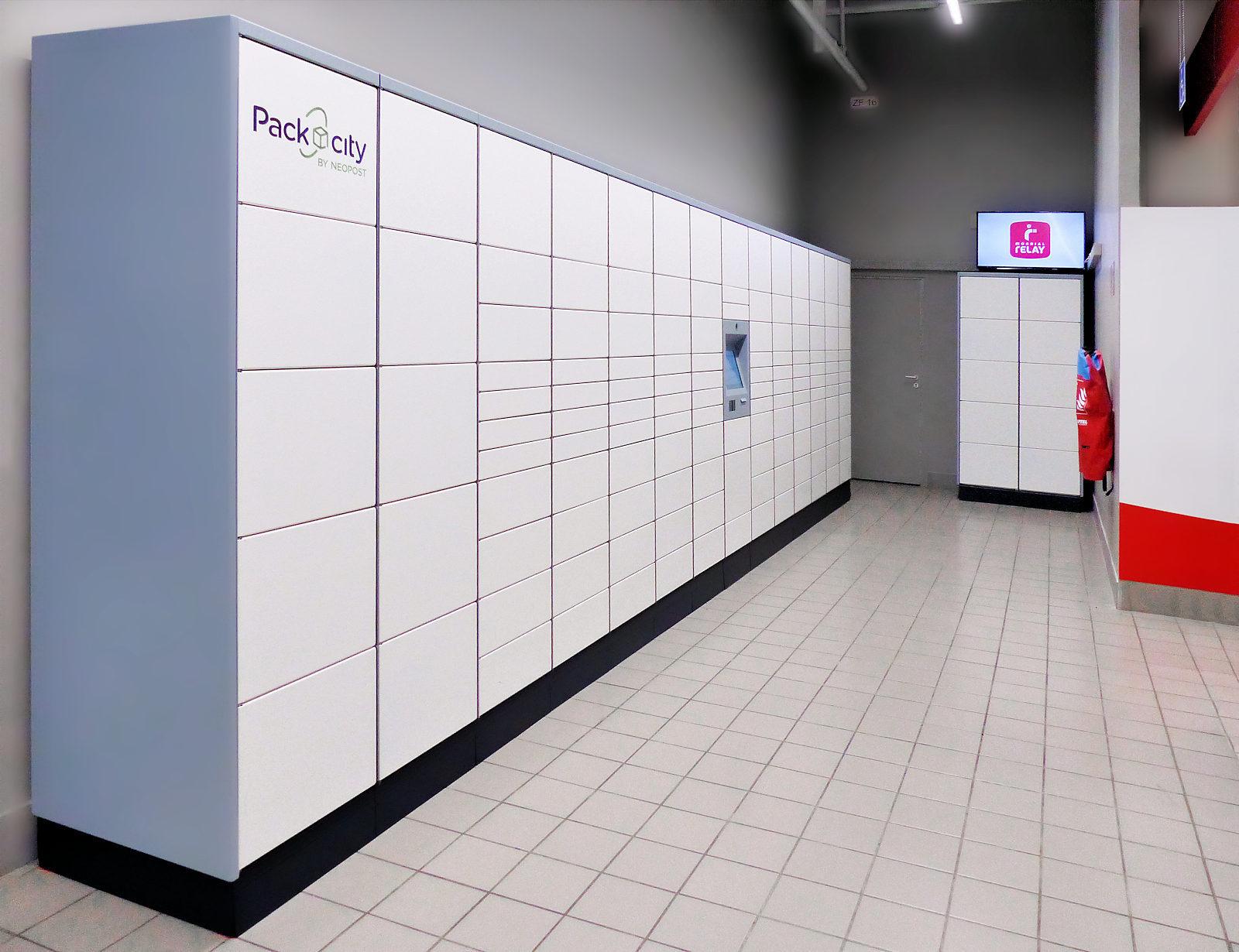 Consignes automatiques Packcity Espace Saint Christophe, Tourcoing