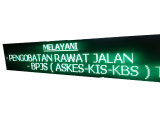 Jual Running text LED 1 warna