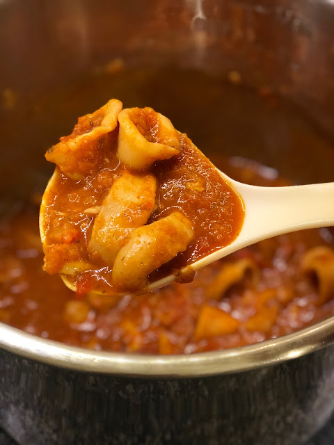 Instant Pot Squid Stew