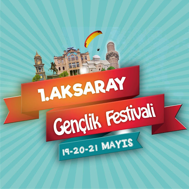 1. Aksaray gençlik festivali logosu