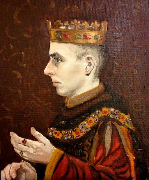 Pen Paint And Pixels Portrait Henry Of England