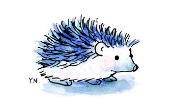 Hedgehog by Yukié Matsushita