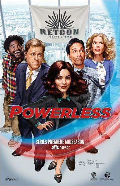 L'Agenda Mensuel - Février 2017 Série TV Powerless