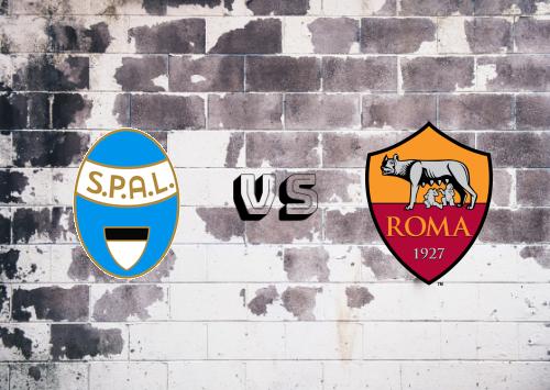 SPAL vs Roma  Resumen